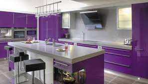 kitchen interiors designs purple kitchen ideas for unique and modern look diy home
