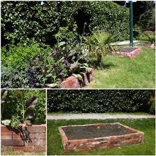 victorian garden walls gardening edging ideas waplag recycled brick raised vegetable