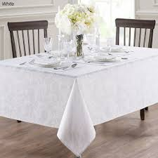 Dining Room Linens Anya Table Linens Waterford Linens With Oblong Tablecloth 29271