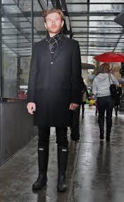 hunter boots black friday black friday downtown seattle rain soaked fashions shot by rain