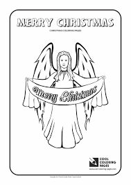 christmas angel coloring page cool coloring pages