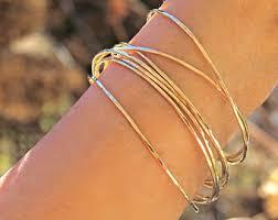 yellow bangle bracelet images 14k gold bangle etsy jpg