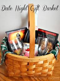 date basket ideas monogrammed wine glasses date basket gift one artsy