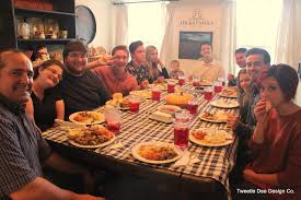 thanksgiving with friends tweetle dee design co november 2015