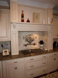 backsplashes wall medallions kitchen backsplash antique white