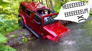 jeep rescue green landcruiser 77 rescue a jeep wrangler jk youtube