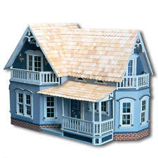Sweet Coffee Shop France Style Diy Doll House 3d Miniature Doll Houses Ebay