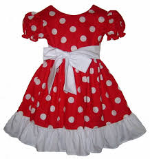 24m 2t pageant minnie mouse red and white polka dots costume dress