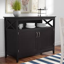 dining hutches you ll love wayfair phenomenal open sideboard furniture
