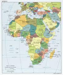 africa map islands subsaharan africa