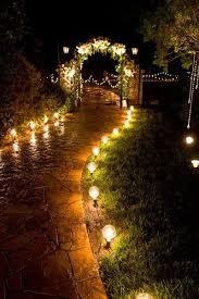 Homemade Light Decorations Best 25 Night Wedding Lighting Ideas On Pinterest Night Wedding