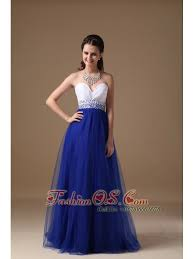and royal blue sweetheart prom dress floor length