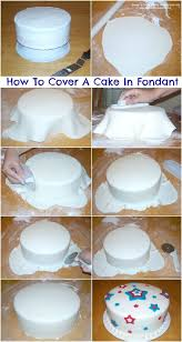 Cake Decorations At Home How To Cover A Cake With Fondant Tutorial Fondant Cakes Cake