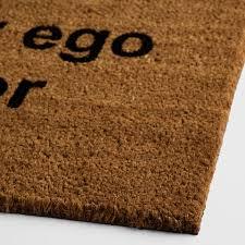 Doormat Leave Check Your Ego At The Door Doormat World Market