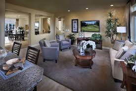 American West Brentwood Plan  Contemporary Family Room - Family rooms las vegas