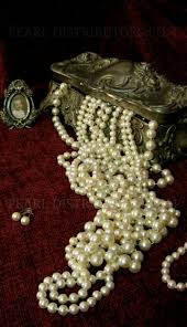 pearl necklace jewelry box images Antique silver jewelry box with pearls pearls jewelry boxes jpg
