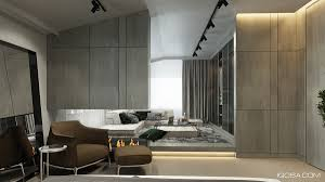 Grey Tile Living Room Gray Tile Panels Interior Design Ideas