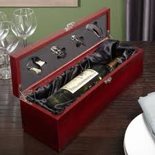 engravable box fortescue engraved wooden wine bottle box