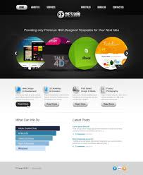 web design facebook flash template 36693