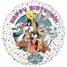 singing birthday balloons tunes sing a tune mylar balloon singing the happy birthday song