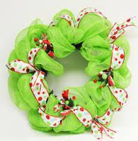 geo mesh wreath home decor crafts diy and free tutorials ben franklin crafts
