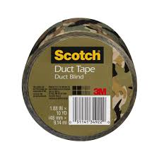 halloween duct tape 3m scotch 1 88 in x 10 yds camo duct tape 910 cmo c the home depot