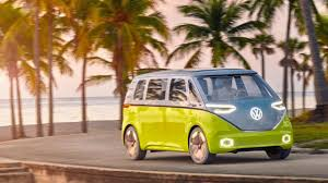volkswagen minibus electric volkswagen producing an electric version of classic microbus fortune