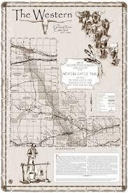 Nebraska Map Map Of Western Cattle Trail In Southwestern Nebraska
