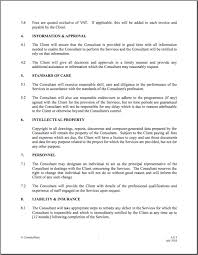 10 best images of standard contract agreement template