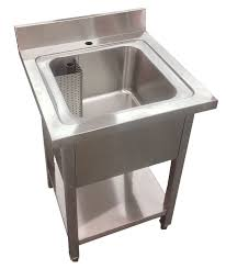 buy stainless steel sink 600mm commercial stainless steel single bowl sink commercial