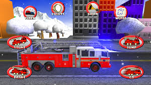 amazon com fire truck race u0026 rescue toy car game for toddlers
