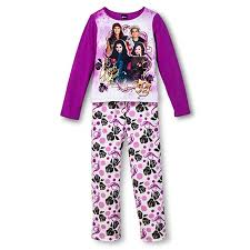 disney big descendants fleece pajama set 4