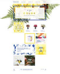 design home page online kalla modern online floral experience by donhkoland digital
