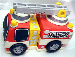 firetruck cakes cake