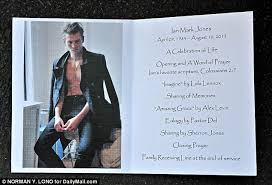 modern funeral programs lennox at s boyfriend s funeral after he