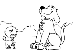 clifford coloring pages getcoloringpages com