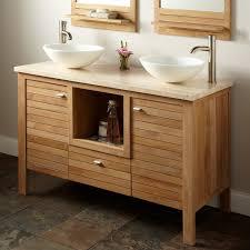 Bamboo Bath Vanity Cabinet Bathroom Electrical Socket Descargas Mundiales Com