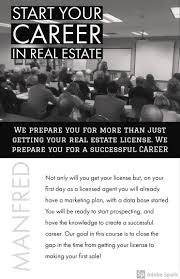 what actions you must take long before the real estate license