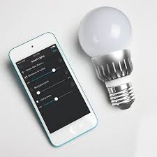 Westek Slc6cbc 4 100w Programmable by Robosmart Wireless Led Smart Light Bulb 60w Equivalent 1 Pack