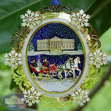 2004 white house ornament rainforest islands ferry