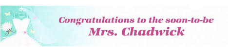congratulations bridal shower custom bridal shower banners party city