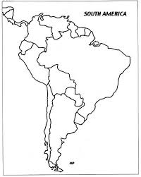 North And South America Map by Free Blank Map Of North And South America Latin America Cool