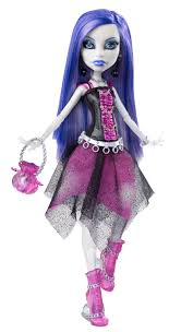 All Monster High Halloween Costumes Monster High Spectra Vondergeist Doll With Pet Ferret Rhuen Wave