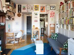 tiny nyc apartment tour art focused family of 4 in 460 square feet