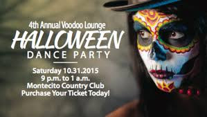 voodoo lounge 4th annual halloween dance party montecito country