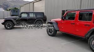 jeep wrangler unlimited 2018 jeep wrangler unlimited rubicon real images motor1 com photos