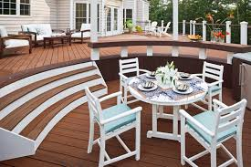 High Patio Chairs Furniture Ideas Composite Patio Furniture With Wooden Deck