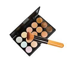 amazon com 15 colors makeup concealer foundation cream cosmetic
