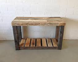 Reclaimed Wood Console Table Reclaimed Wood Console Table Etsy
