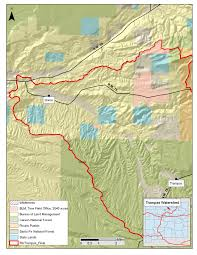 Map Of Taos New Mexico by Rio Trampas Watershed Forestguild Org